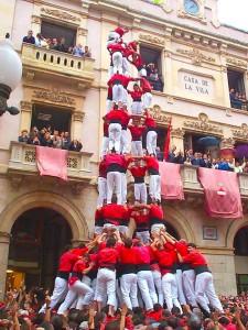 castellers barcelona. rentspain